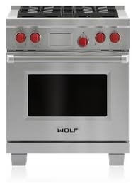 Wolf Drop In Cooktop Wolf Df304 30 Inch Dual Fuel Freestanding Range With Sealed Burner