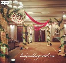 Wedding Rental Decorations Pathway Decorations On Rent Lucky Wedding Rental
