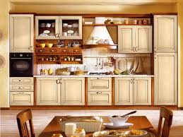 Cleaning Old Kitchen Cabinets Spacious Kitchen With Classic Wooden Island And Cream Kitchen