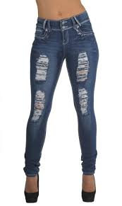 Plus Size Ripped Leggings Style Ch032p Plus Size Classic Ripped Distressed Destroyed