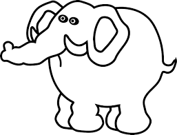 unhappy elephant coloring page wecoloringpage