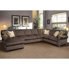 sectional sofas furniture brown leather high back sectional