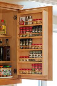 Contemporary Spice Racks Cabinet Charming Spice Racks For Cabinets Over The Door Spice