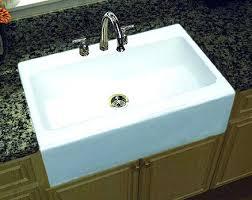 drop in farmhouse kitchen sink drop in farmhouse kitchen sinks a farmhouse apron front single bowl