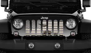 Rugged Ridge Grille Inserts Jeep Jk Iwo Jima