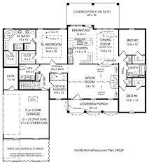 3 Bedroom Ranch Floor Plans Nobby Design Ranch House Plans From The 1970s 13 Split Level 3