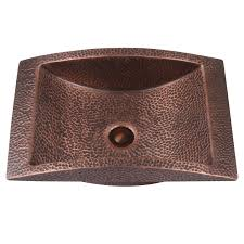 bathroom sink bowls lowes top 61 preeminent hammered copper sink farmhouse drop in bathroom