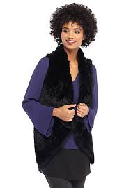 fur sweater faux fur vest with sweater back the limited