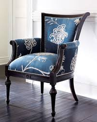 Blue And White Accent Chair Dining Room The Beautiful Living Rooms Traditional Accent Chairs