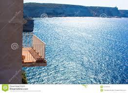 Beautiful Balcony Beautiful Balcony Overlooking The Sea Stock Photo Image 51197212
