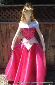 Sleeping Beauty Halloween Costume Stunning Sparkly Satin Sleeping Beauty Aurora Costume Gown Child