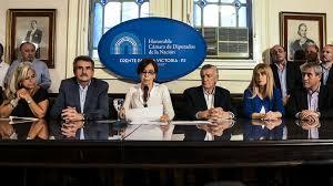 Cristina Autor En Ecortina Cristina Responsabilizó A Macri Por Su Procesamiento Y Las
