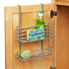 kitchen cabinet door storage polytherm the cabinet basket the container store