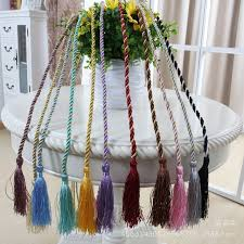 Rope Tiebacks For Curtains Trendy Rope Curtain Tiebacks Curtain Tassels Fringe Tie Backs