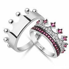 diamond king rings images King queen promise rings promise rings for jpg