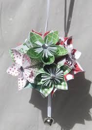 kusudama large origami tree ornament aftcra