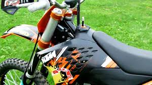 start ktm sx f 450 youtube