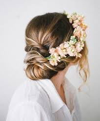 wedding flowers in hair wedding nail designs bridal hair acconciatura sposa 2134032