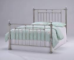 dreamland opulence black nickel bed frame the world of beds