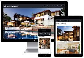 website design for architects u0026 homes om4 perth