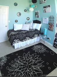 preteen bedrooms a preteen room in aqua and black reveal cleverly inspired