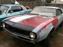 camaro for sale san antonio purchase 1968 chevrolet camaro 67 68 69 in san antonio