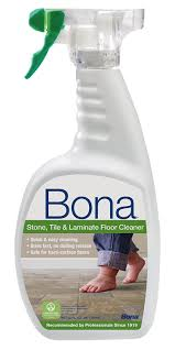 Cleaners For Laminate Wood Floors Amazon Com Bona Stone Tile U0026 Laminate Floor Cleaner Spray 32