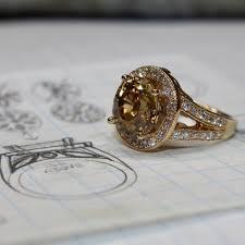 golden gold rings images American diamond exchange golden zircon and diamond ring custom jpg