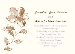 wedding invitations printable printable floral wedding invites ewi179 as low as 0 94
