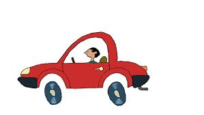 car crash a small about traffic accident 2d animated cartoon