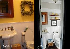 Small Bathroom Trash Can Wall Lamp And Toilet And Trash Bin Powder Room Designs Small