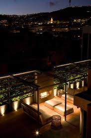 Patio Floor Lights by Indirect Patio Lighting Full Comfort On The Terrace Or Balcony