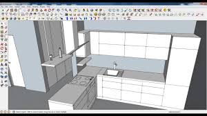 google sketchup tutorial part 03 kitchen modeling accesories