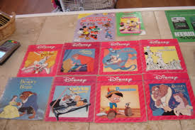disney set of 10 paperback story books from enkore