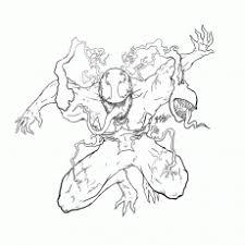 shape spiderman venom coloring pages az coloring pages