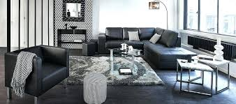 idee deco salon canape noir idee deco salon canape noir amazing dco et design mme en rangeant