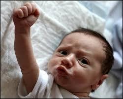 Baby Fist Meme - baby raising fist blank template imgflip