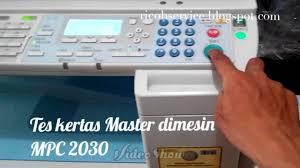ricoh mpc2030 print master youtube