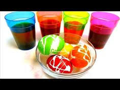 Easter Egg Decorating Rice by How To Make A Rainbow Colored Easter Egg Diagram Crafts