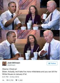Obama Bill Clinton Meme - obama biden memes best jokes as white house prepares for