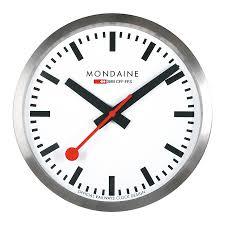 mondaine clocks wandklok 40 cm a995 clock 16sbb clock