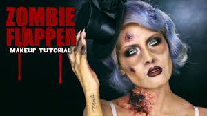 zombie flapper makeup youtube