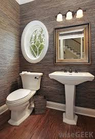 What Is A Powder Room With Pictures - Powder room bathroom