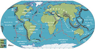 Antarctica World Map by Map Of Tectonic Plate Boundaries