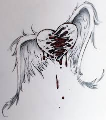 drawn angel sad angel pencil and in color drawn angel sad angel