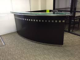 Used Office Furniture Ocala Fl by Stylish Modern U0026 Sleek Reception Desk In Our Used Office