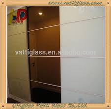 Cermin Brown high quality coated colored mirror tinted mirror glass wall