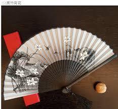 10pcs japanese silk fan ms silk folding fan fan summer hot