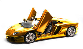 Lamborghini Aventador Msrp - this gold plated lamborghini model car will set you back 7 5