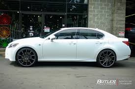 lexus vossen wheels lexus gs with 22in vossen cvt wheels exclusively from butler tires